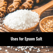 Epsom salt information, Alternative Medicine Associates in Huntsville and Madison al